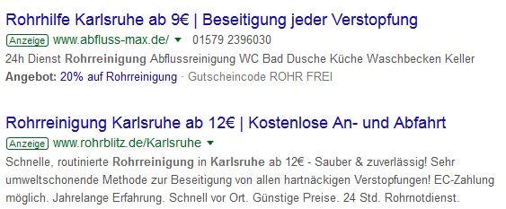 Kanalreinigung Karlsbad - Vorsicht!